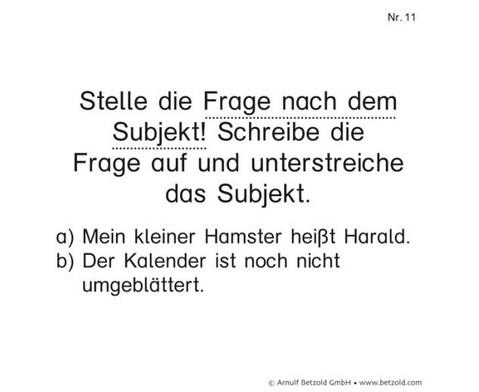 Satzglieder Subjekt und Praedikat-2