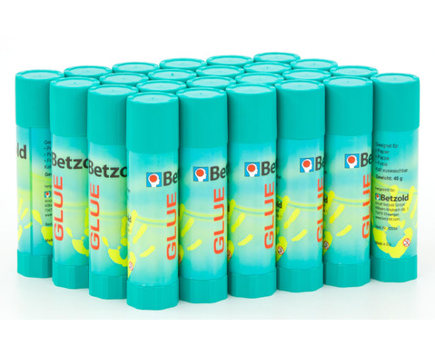 Betzold Klebestifte 24 Stueck je 20 g-1