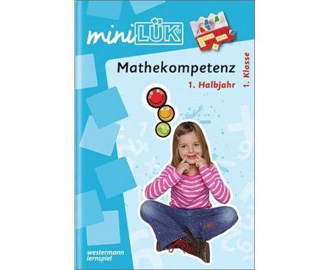 miniLUEK Mathekompetenz 1 Klasse-1