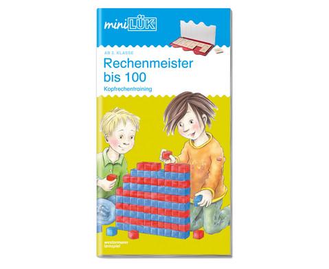 miniLUEK Rechenmeister bis 100