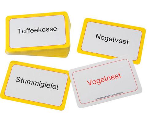 Verdrehte Woerter - Kartensatz fuer den Magischen Zylinder-2