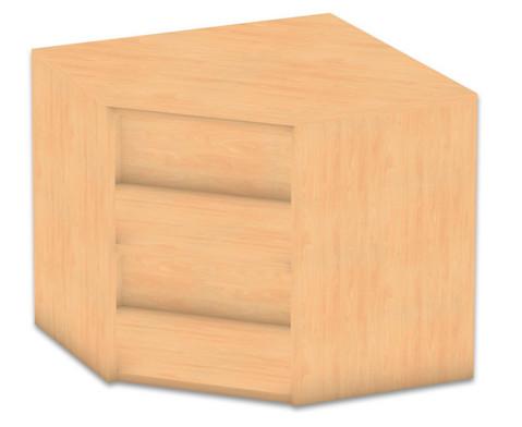Flexeo Eckregal Aufsatzelement 1 Fachboden Hoehe 606 cm