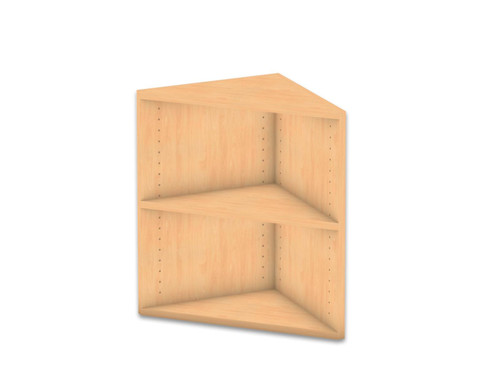 Flexeo Abschlussregal eckig 1 Fachboden Hoehe 606 cm-1