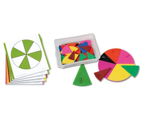 Set Bruchrechen-Karten und Legematerial-1