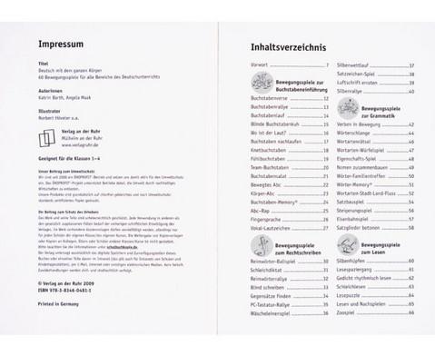 Deutsch mit dem ganzen Koerper - 1-4 Klasse-5