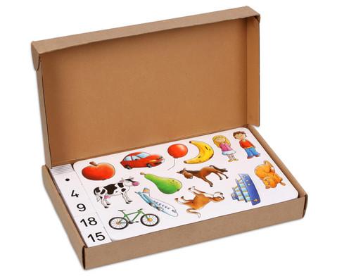 Betzold Zaehlen und Rechnen mit Bildern im Karton
