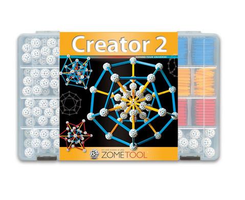 Zometool Creator 2 grosser Steckbaukasten