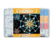 Zometool Creator 2, großer Steckbaukasten
