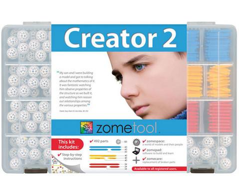 Zometool Creator 2 grosser Steckbaukasten-1