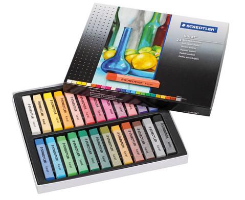 Soft-Pastellkreiden karat 24 Farben-1