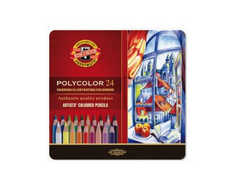 Polycolor Kuenstlerfarbstifte 24 Farben-2