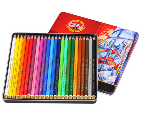 Polycolor Kuenstlerfarbstifte 24 Farben
