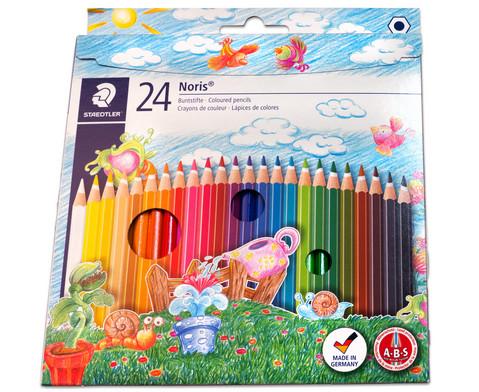 Farbstifte Noris Club Etui mit 24 Farben-2