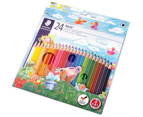 Farbstifte Noris Club Etui mit 24 Farben-3