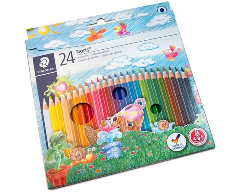 Farbstifte Noris Club Etui mit 24 Farben-4