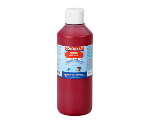 Acrylfarbe Einzelfarben je 500 ml-7