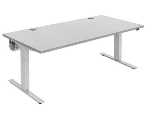 Flexeo Schreibtisch hoehenverstellbar B x T 180 x 80 cm
