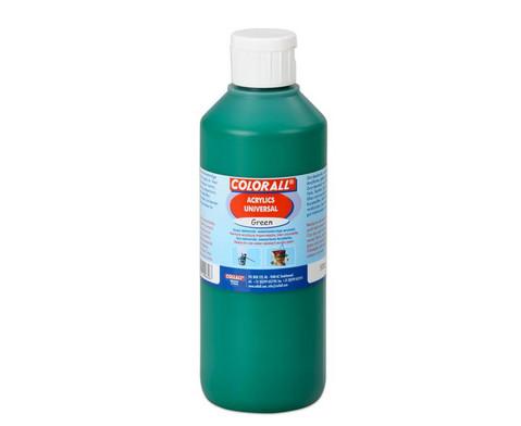 Acrylfarbe Einzelfarben je 500 ml-4
