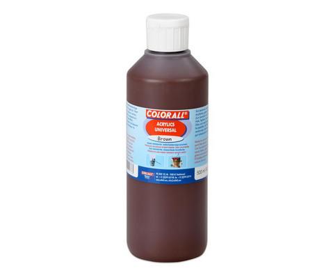 Acrylfarbe Einzelfarben je 500 ml-3