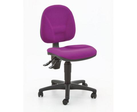 Drehstuhl ClassroomComfort mit Teppichrollen-2