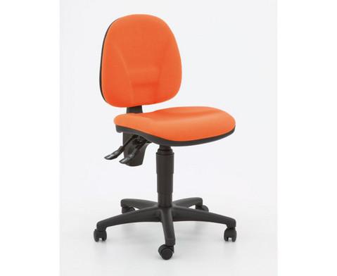 Drehstuhl ClassroomComfort mit Teppichrollen-3