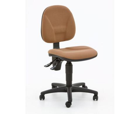 Drehstuhl ClassroomComfort mit Teppichrollen-5