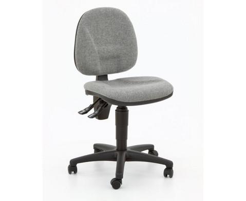 Drehstuhl ClassroomComfort mit Teppichrollen-10