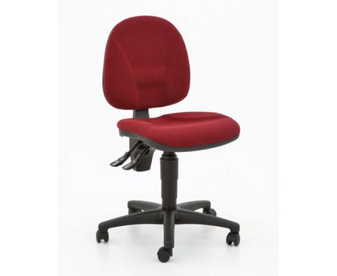 Drehstuhl ClassroomComfort mit Teppichrollen-13