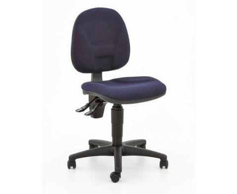 Drehstuhl ClassroomComfort mit Teppichrollen-14