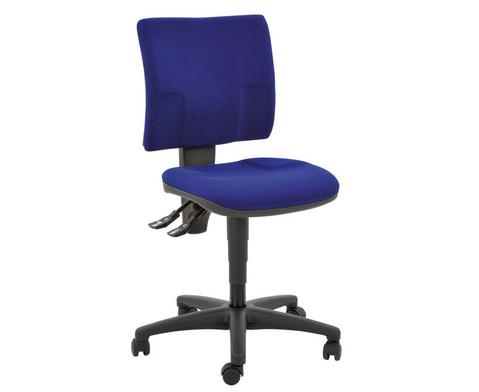 Drehstuhl Small-Office Optimal mit Teppichrollen