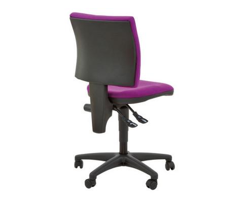 Drehstuhl Small-Office Optimal mit Hartbodenrollen-2