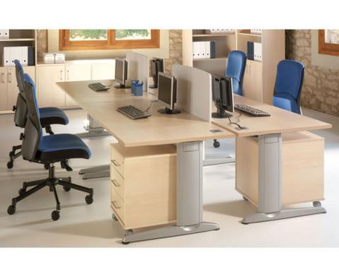 L-Fuss Schreibtisch 140 x 80 cm-2