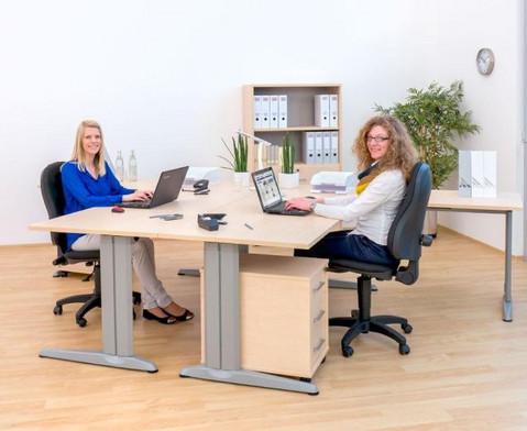 L-Fuss Schreibtisch 140 x 80 cm-3