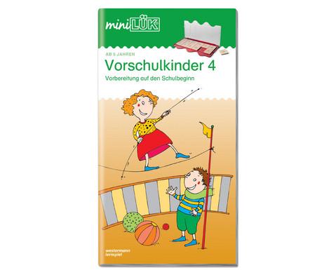 miniLUEK-Heft UEbungen fuer Vorschulkinder 4-1