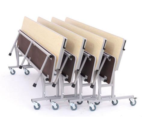 Tisch-Bank-Kombination 4-5 Sitzplaetze Tischhoehe 74 cm-4