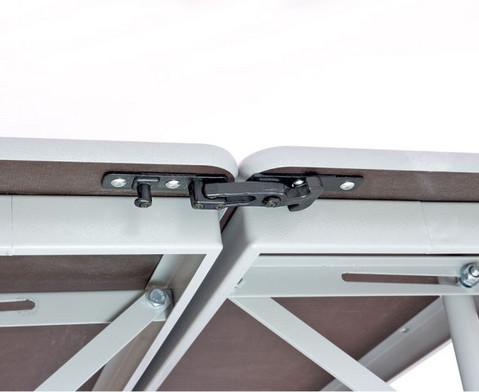 Tisch-Bank-Kombination 4-5 Sitzplaetze Tischhoehe 74 cm-6