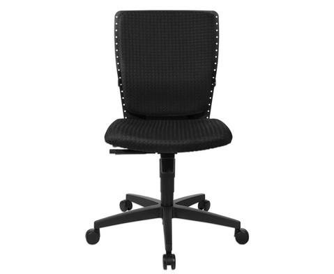 Flexness Drehstuhl fuer Einsteiger ohne Armlehnen-9