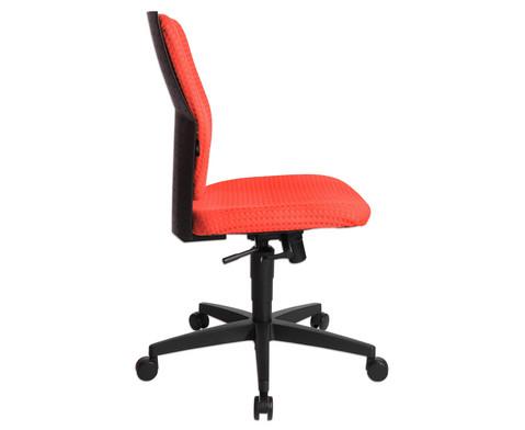Flexness Drehstuhl fuer Einsteiger ohne Armlehnen-25