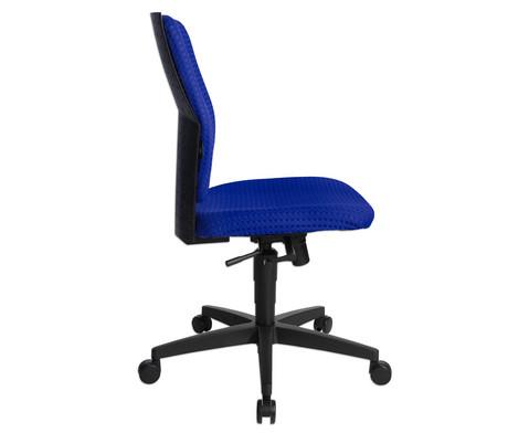 Flexness Drehstuhl fuer Einsteiger ohne Armlehnen-18