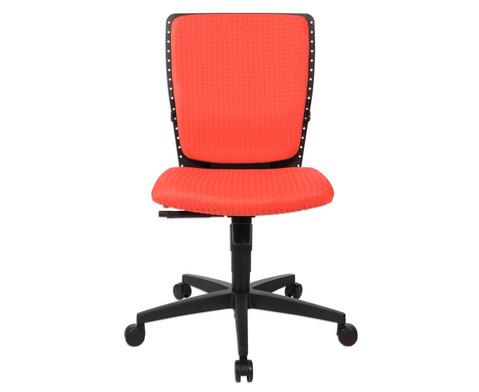 Flexness Drehstuhl fuer Einsteiger ohne Armlehnen-33