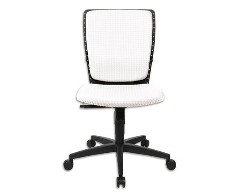 Flexness Drehstuhl fuer Einsteiger ohne Armlehnen-36