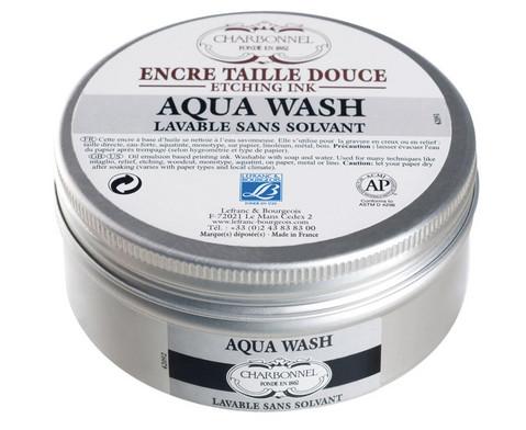 Kupferdruckfarbe Aqua wash von CHARBONNEL schwarz-1