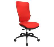 Flexness Drehstuhl Pro mit High-Tech Rückenlehne, ohne Armlehnen