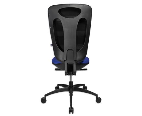 Flexness Drehstuhl Pro mit High-Tech Rueckenlehne ohne Armlehnen-23