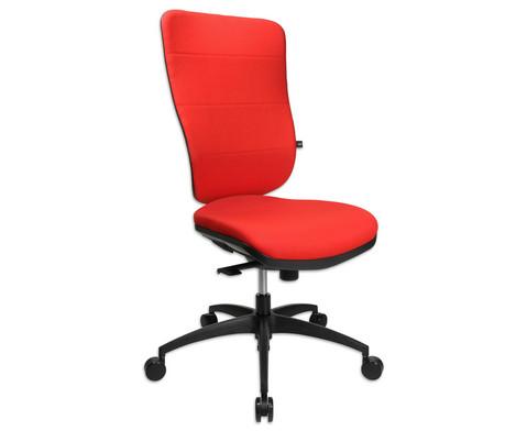 Flexness Drehstuhl Pro mit High-Tech Rueckenlehne ohne Armlehnen-6
