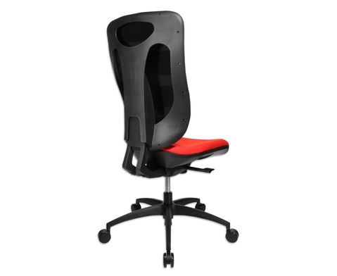 Flexness Drehstuhl Pro mit High-Tech Rueckenlehne ohne Armlehnen-8