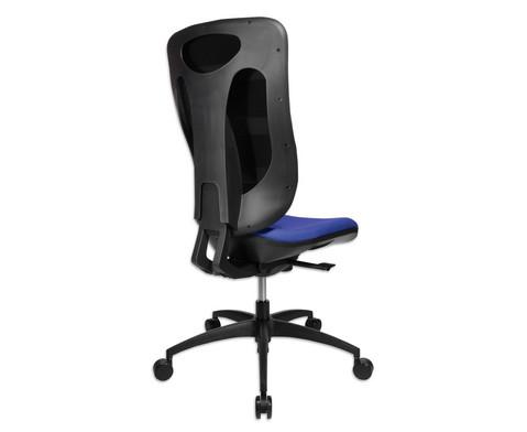 Flexness Drehstuhl Pro mit High-Tech Rueckenlehne ohne Armlehnen-16