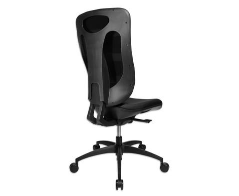 Flexness Drehstuhl Pro mit High-Tech Rueckenlehne ohne Armlehnen-12