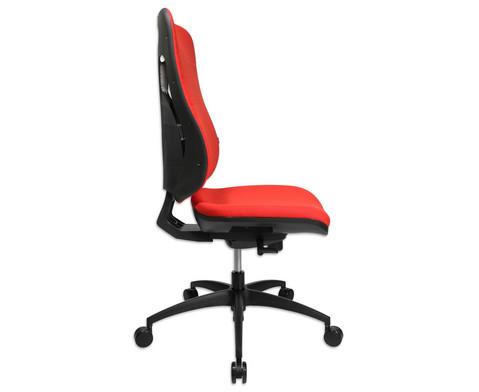 Flexness Drehstuhl Pro mit High-Tech Rueckenlehne ohne Armlehnen-19