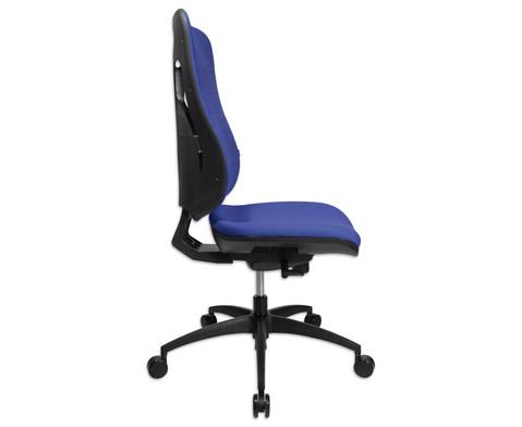 Flexness Drehstuhl Pro mit High-Tech Rueckenlehne ohne Armlehnen-4
